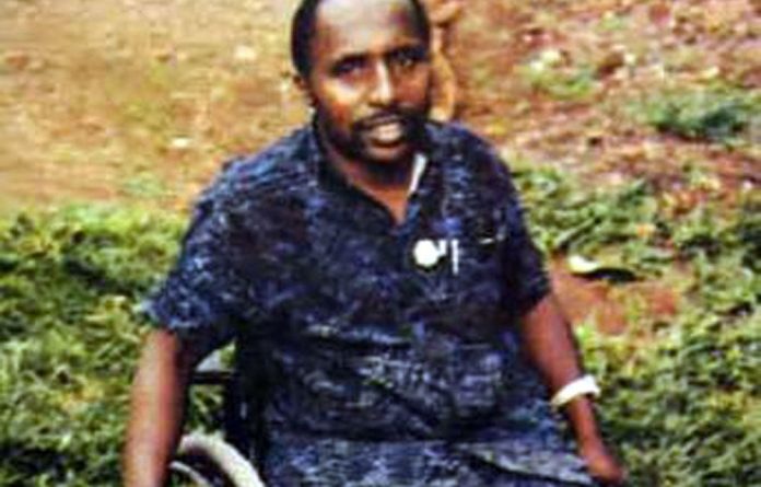 An undated picture released by Interpol shows Pascal Simbikangwa.