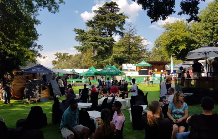 The organisers of the GrowUp Expo worked hard to create a festival vibe in Sandton and pretty much hit the mark.