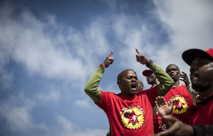 Missed deadline: Numsa was to have announced the launch of a new trade union federation on May Day