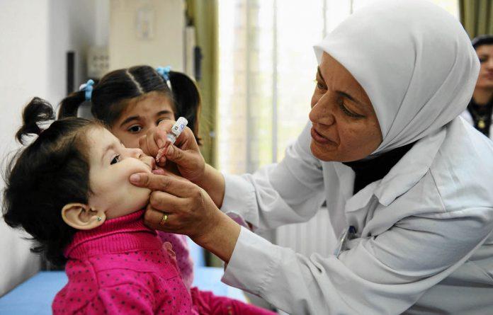 The UN estimates that half a million children are at risk.