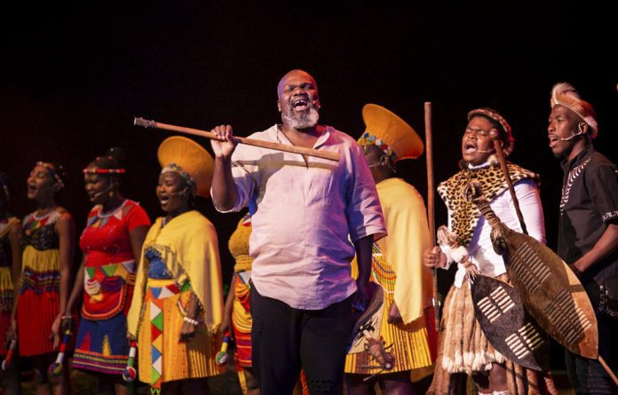In a musical lecture at Jo'burg's Civic Theatre this weekend
