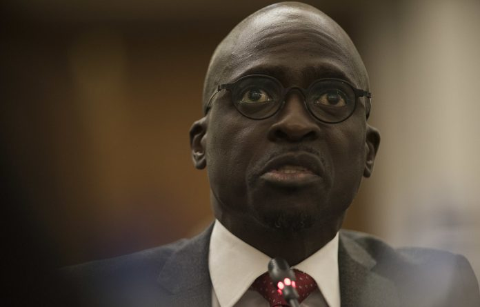 Hollow man: Testifying at Parliament's state capture hearing