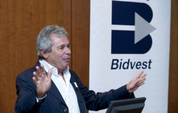 Bidvest Group chief executive Brian Joffe.