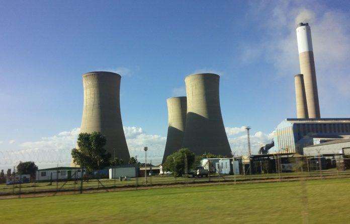 Koornfontein mine is next door to Komati power station