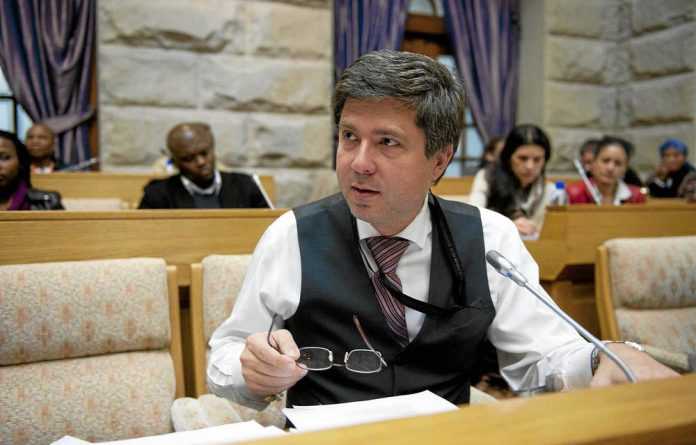 Mario Oriani-Ambrosini tabled his Medical Innovation Bill advocating the legal use of medicinal marijuana in February this year.