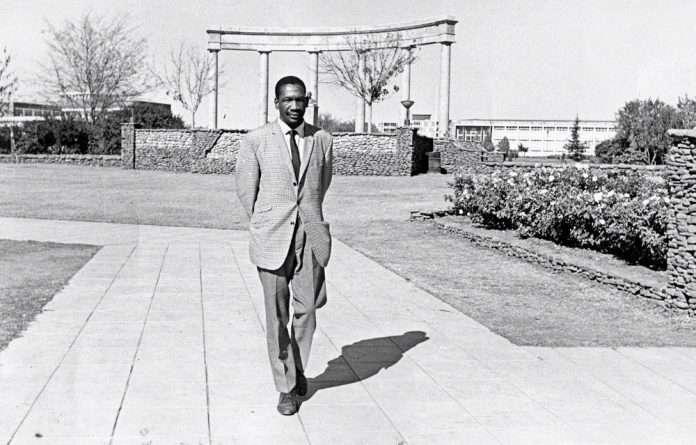 Free spirit: Robert Sobukwe believed that brutal times also offered possibilities for imagining new pathways to freedom.