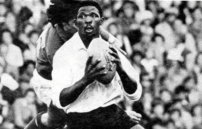 Morgan Cushe playing for the Leopards against a French touring side in 1975.