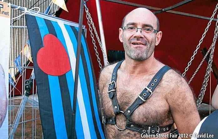 Wilhelm Stegmann was a participant in the colourful Cobern Pansexual Street Fair in Cape Town.