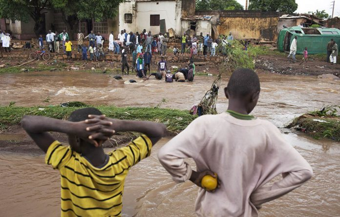 Bangui in the Central African Republic
