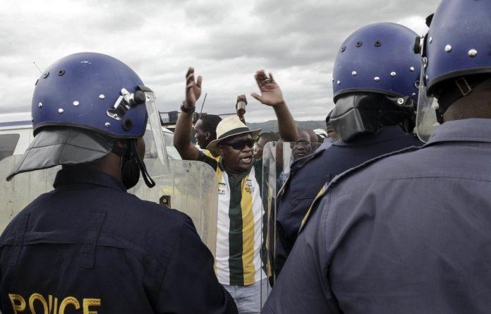 "In the ""open letter"" - Zuma"
