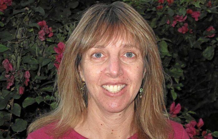 Childhood hero: Professor Heather Zar.