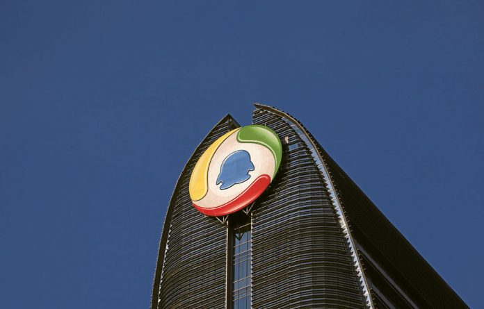 Tencent Holdings is the largest internet solutions provider in China and Naspers