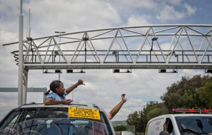 Gauteng motorist will be charged for driving on highways across the province from midnight on Monday.