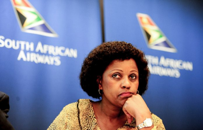"""Nzimande said he had no intention to """"retain"""" Myeni in his office."""