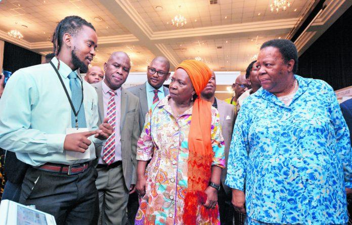 Executive officer of the National Skills Authority Thabo Mashongoane