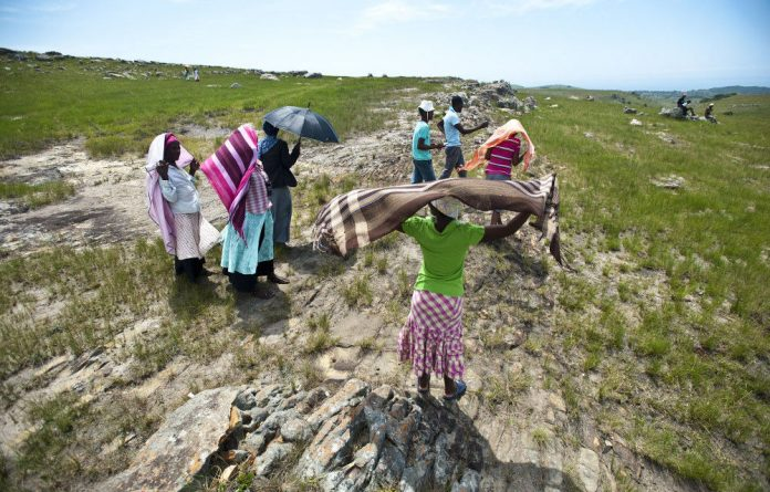 Apartheid has entrenched policymakers' notions of rural people.