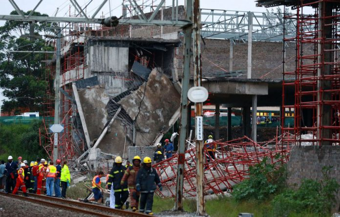 A Tongaat mall collapsed on Tuesday near Durban