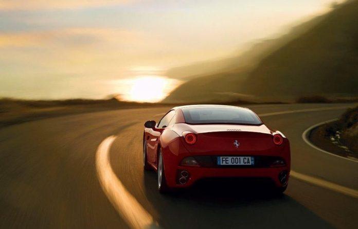 Sukasha Singh tries out the new Ferrari California.