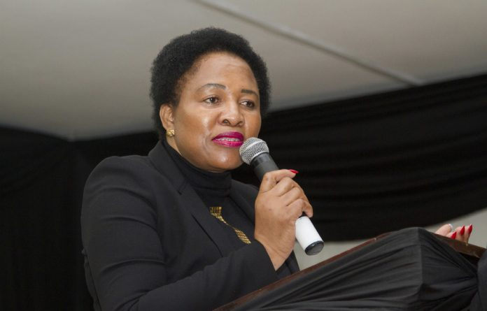 Ekurhuleni's city manager Dr Imogen Mashazi says adopting a green mind-set entails a shift in priorities