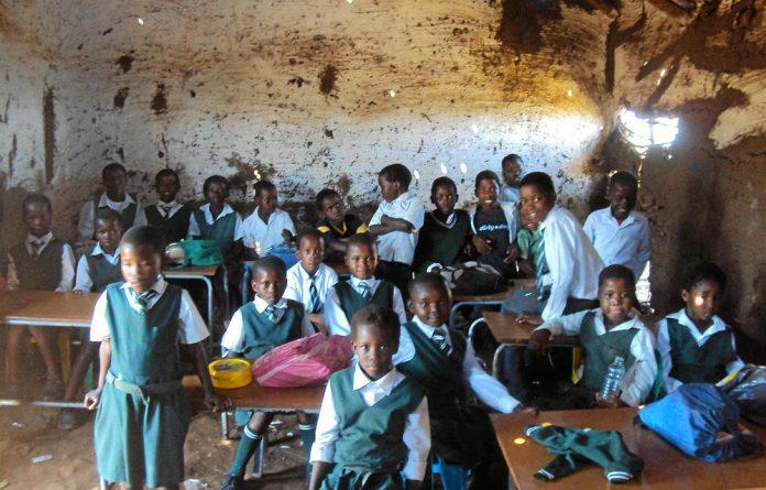 Bomvini Primary School in the Eastern Cape.