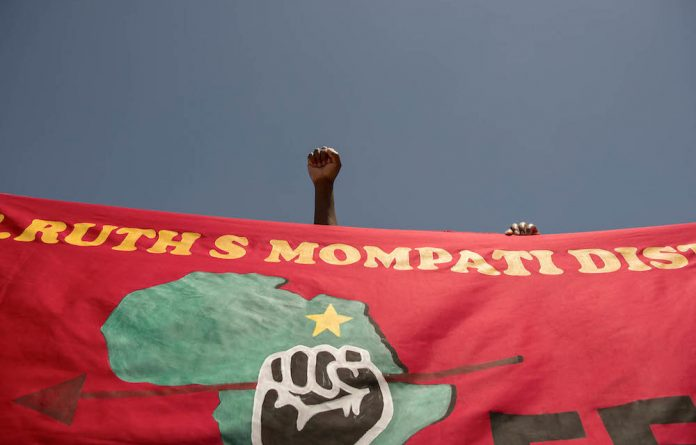 Economic Freedom Fighters Student Command