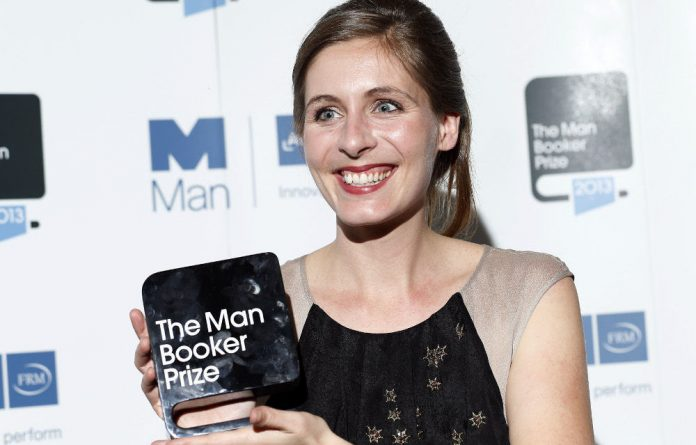 Eleanor Catton wins the Man Booker prize for her novel