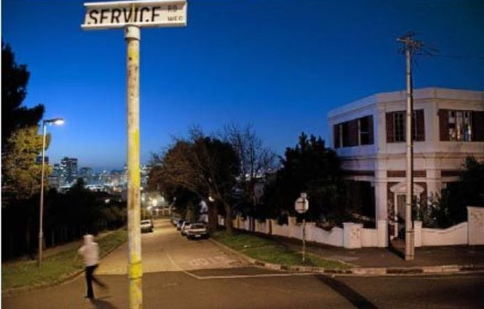 Shifting landscapes: The abandoned Zimbabwean consulate in District Six.
