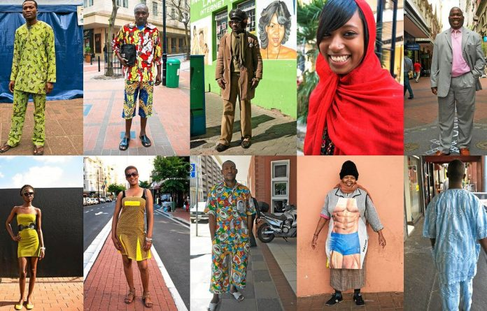 High and low fashion sensibilities collide on South Africa's streets.