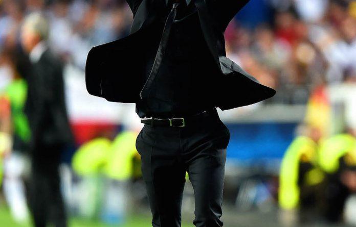 Driving force: Atlético Madrid coach Diego Simeone.