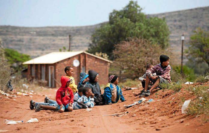 Children in Olifantshoek