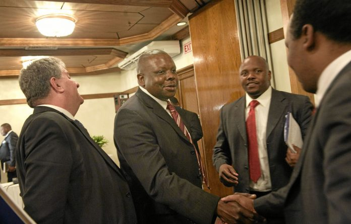 Western Cape Judge President John Hlophe at an earlier hearing held by the Judicial Service Commission.