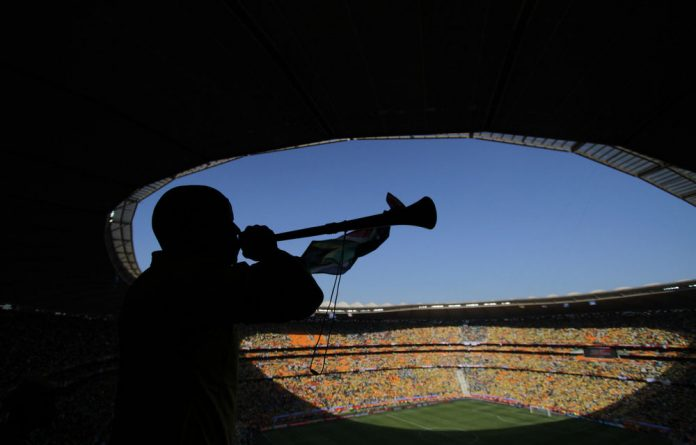 Sepp Blatter embraced vuvuzelas in local stadiums despite broadcasters' complaints about the noise at the 2009 Confederations Cup.