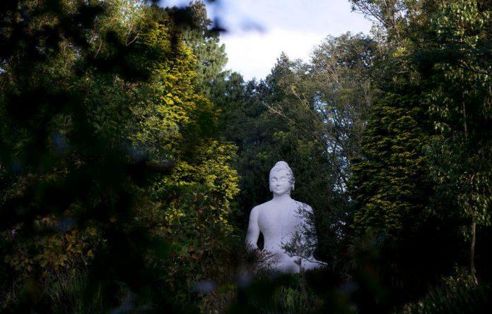 Big Buddha at the retreat centre in Ixopo.