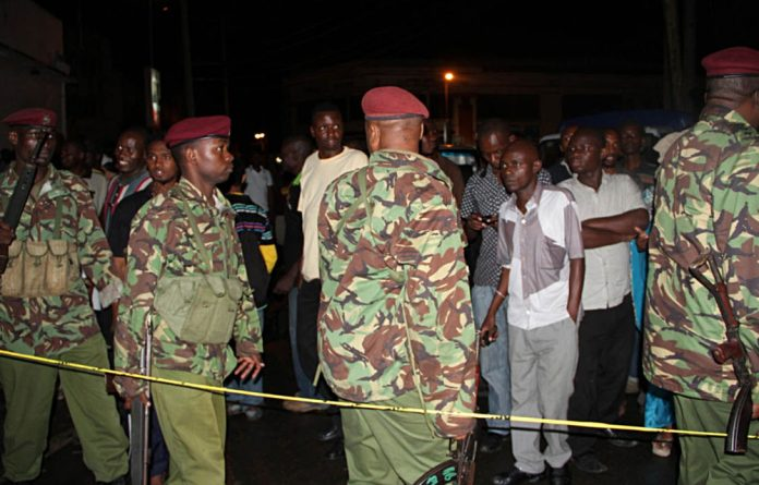 Kenya has been struck by a series of blasts since it sent troops across the border in October to try to crush the al Shabaab militants.