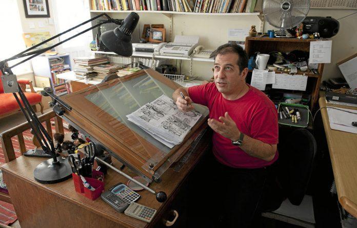 Cartoonist Jonathan 'Zapiro' Shapiro.