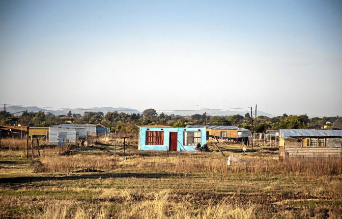 The Bapo Ba Mogale community of about 30000 people live on one of the earth's greatest treasures