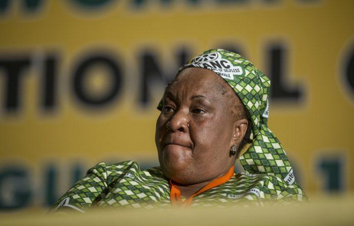 Sisi Ntombela was the Social Development MEC in Free State.