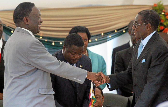 Outsider: Emmerson Mnangagwa