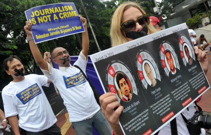Al Jazeera correspondent for Jakarta Step Vaessen
