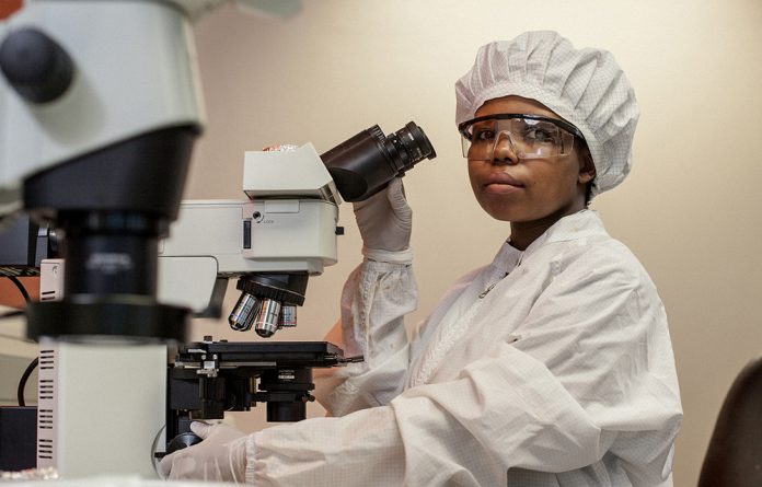 Bonisile Luthuli – an Africa Health Research Institute PhD student.