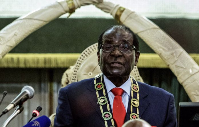 Zimbabwe President Robert Mugabe delivers his first State of the Nation address in eight years.