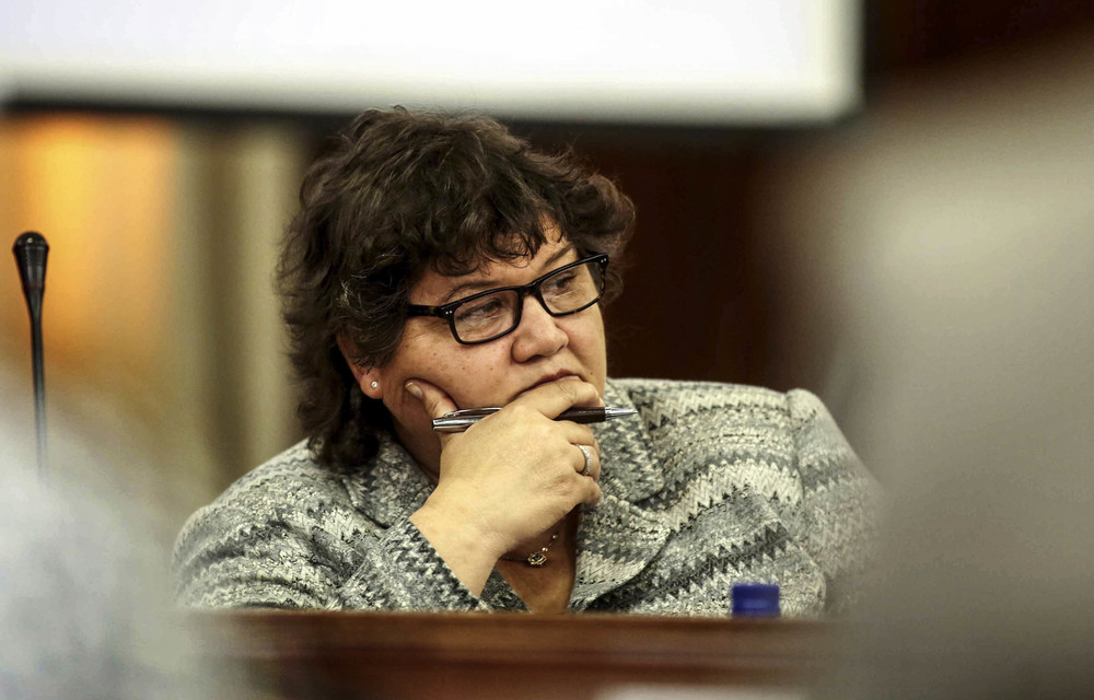 Judge Raymond Zondo concluded that if Lynne Brown chooses to supplement her application in the future