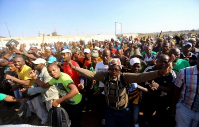 The Association of Mineworkers and Construction Union announced it would strike in both the platinum and gold sectors after issuing employers with strike notices.