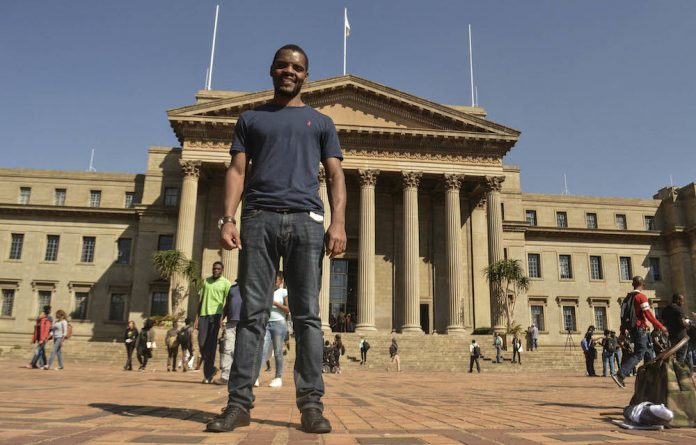 Saving face: Axed Wits student leader Mcebo Dlamini should rather have been 'rehabilitated'.
