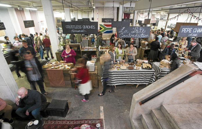 The Market on Main is one of the companies starting an economic revival in Jo'burg's city centre.
