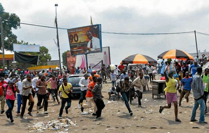 Deadly force: Police opened fire to disperse about 30 000 demonstrators