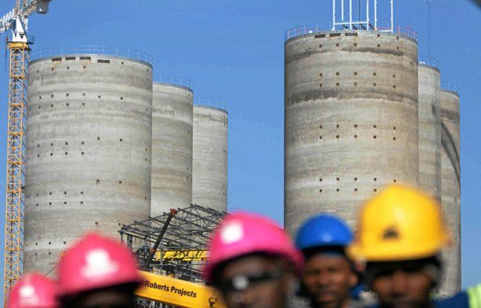 Eskom's Ingula pumped storage scheme