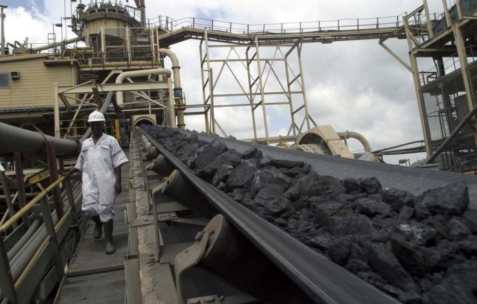 South Africans are driving mining in Ghana where Ashanti Goldfield's has two mines.