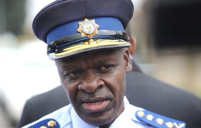 Lieutenant-General Khehla Sitole.