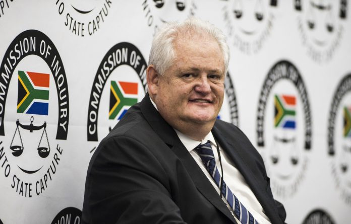 Dirty deals: Angelo Agrizzi led the Zondo commission through a cellphone video showing then Bosasa chief executive Gavin Watson handling bribe money. Photo: Delwyn Verasamy